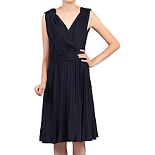 Buy Jolie Moi Plunging Neck Pleated Dress Online at johnlewis.com