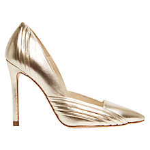 Buy Karen Millen Pleat Detail Stiletto Court Shoes Online at johnlewis.com