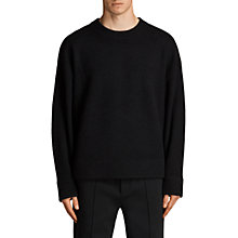 Buy AllSaints Loften Merino Wool Jumper Online at johnlewis.com