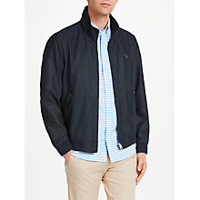 Buy GANT New Hampshire Harrington Jacket, Navy Online at johnlewis.com