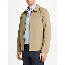 Buy GANT Windcheater Collared Jacket Online at johnlewis.com