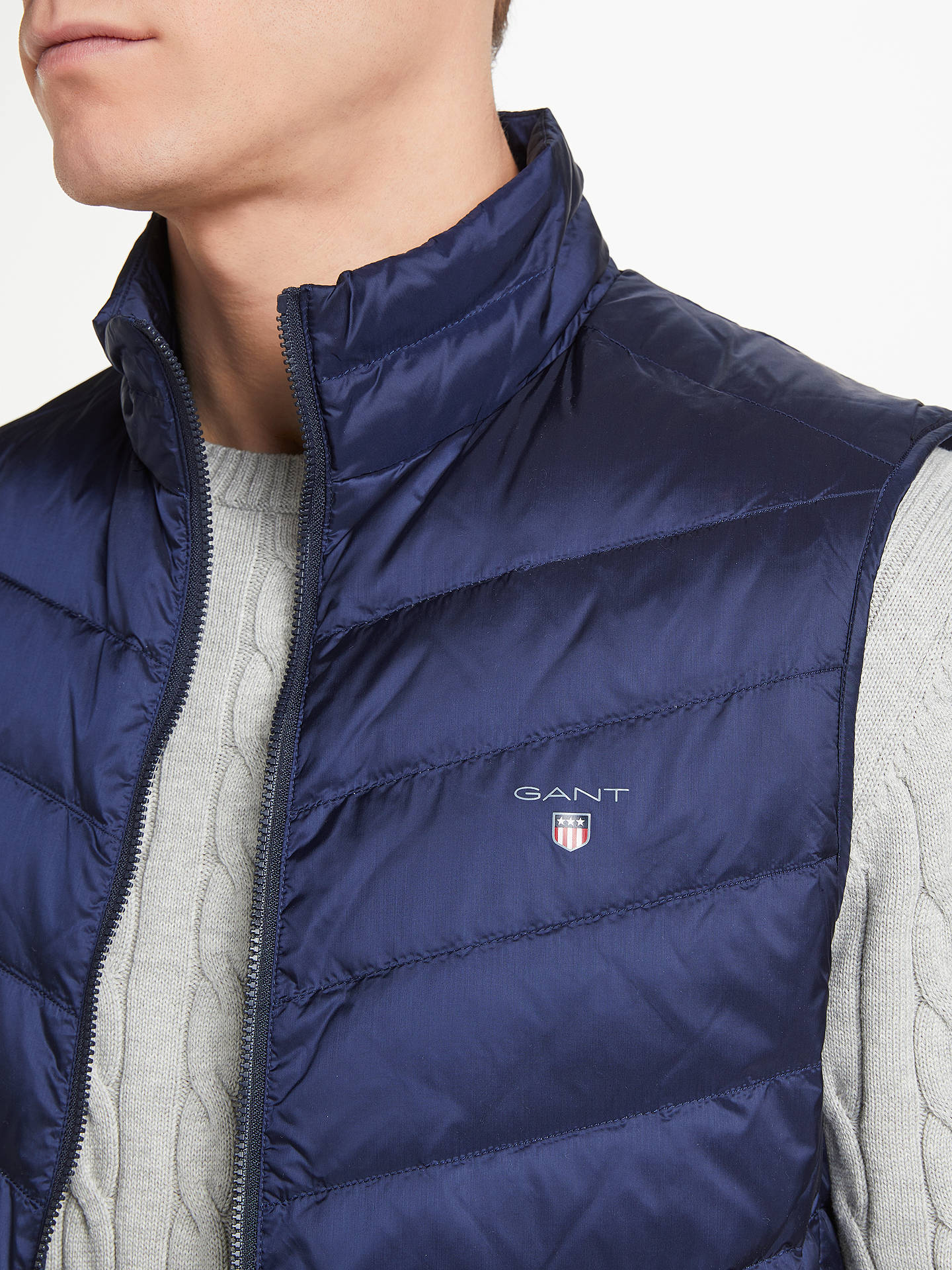 Gant Mens Outdoor Gilet