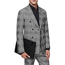 Buy Reiss Bragg Check Slim Fit Suit Jacket, Grey Online at johnlewis.com
