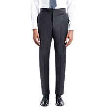 Buy Jaeger Textured Wool Slim Fit Suit Trousers, Black Online at johnlewis.com