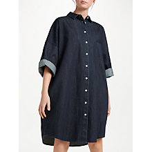 Buy Kin by John Lewis Denim Utility Dress, Denim Online at johnlewis.com