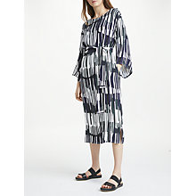 Buy Kin by John Lewis Shuya Print Waist Tie Dress, Multi Online at johnlewis.com