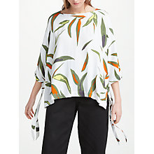 Buy Kin by John Lewis Sibay Tie Detail Oversized Top, Multi Online at johnlewis.com