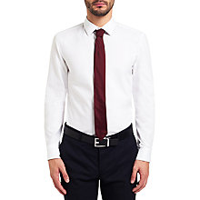 Buy HUGO by Hugo Boss Celwin Slim Fit Shirt, Open White Online at johnlewis.com