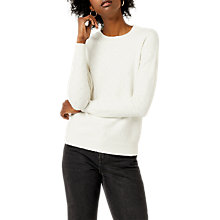 Buy Warehouse Cosy Pointelle Jumper Online at johnlewis.com