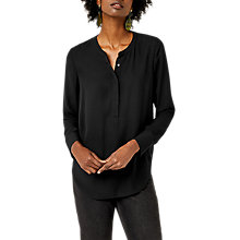 Buy Warehouse Long Sleeve Button Side Blouse Online at johnlewis.com