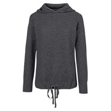 Buy Fat Face Honeycomb Hoodie, Grey Online at johnlewis.com