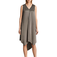 Buy AllSaints Blaze Dress, Silver Green Online at johnlewis.com