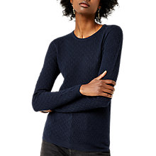 Buy Warehouse Wave Pointelle Jumper Online at johnlewis.com