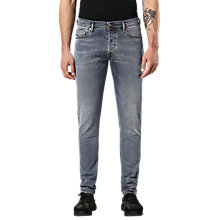 Buy Diesel Tepphar 084QQ Carrot Slim Fit Jeans, Grey Online at johnlewis.com