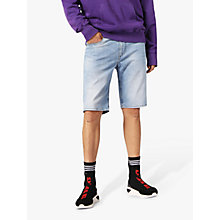 Buy Diesel Thoshort Slim Denim Shorts, Blue 084QN Online at johnlewis.com