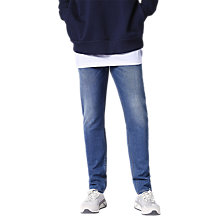 Buy Diesel Thommer Skinny Fit Stretch Jeans, Blue 084RM Online at johnlewis.com