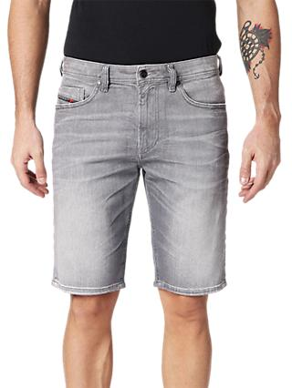 Diesel Thoshort Slim Denim Shorts, Grey 0839N