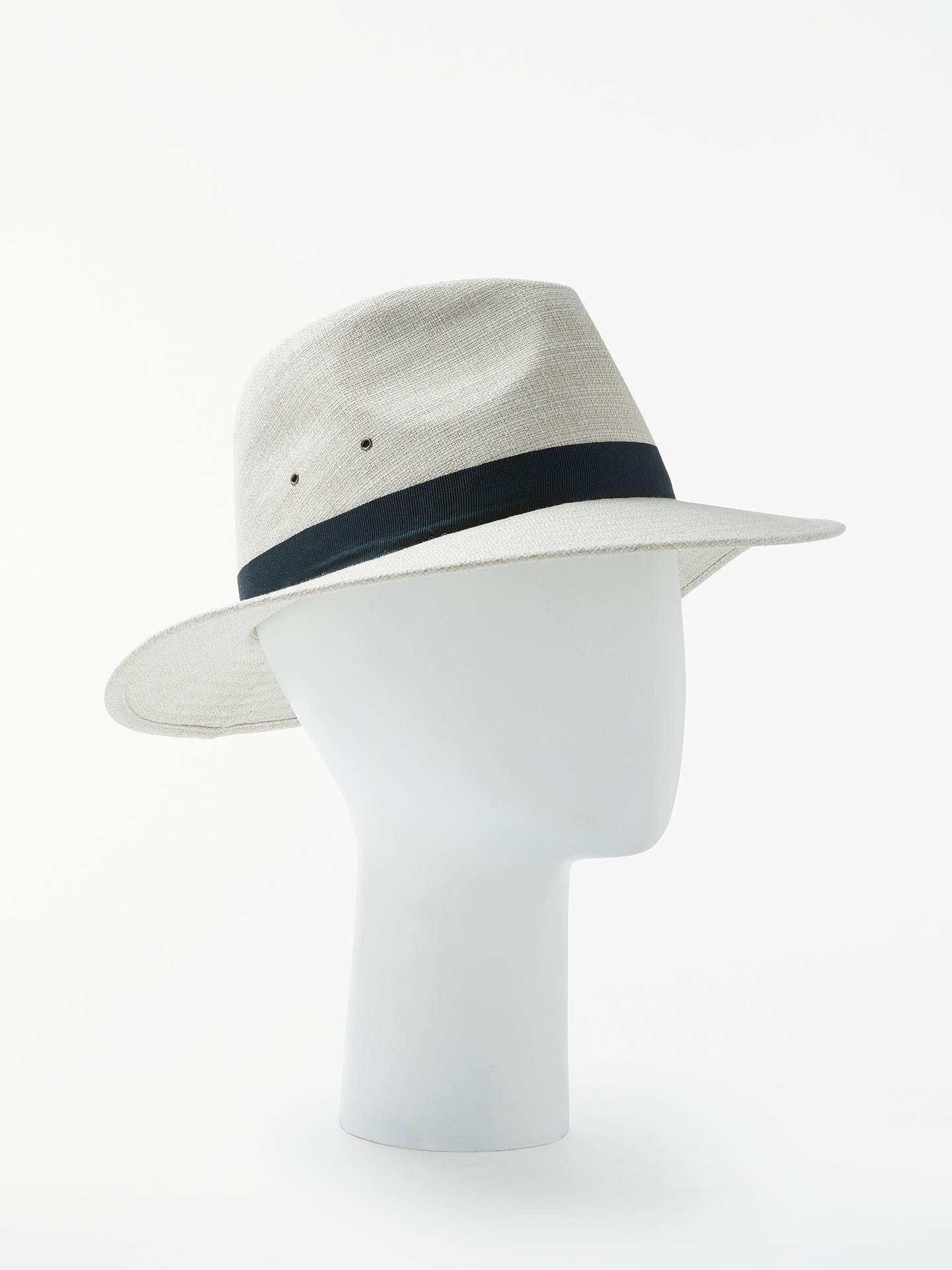 2fa113b98 John Lewis Ambassador Trilby Hat, Beige at John Lewis & Partners