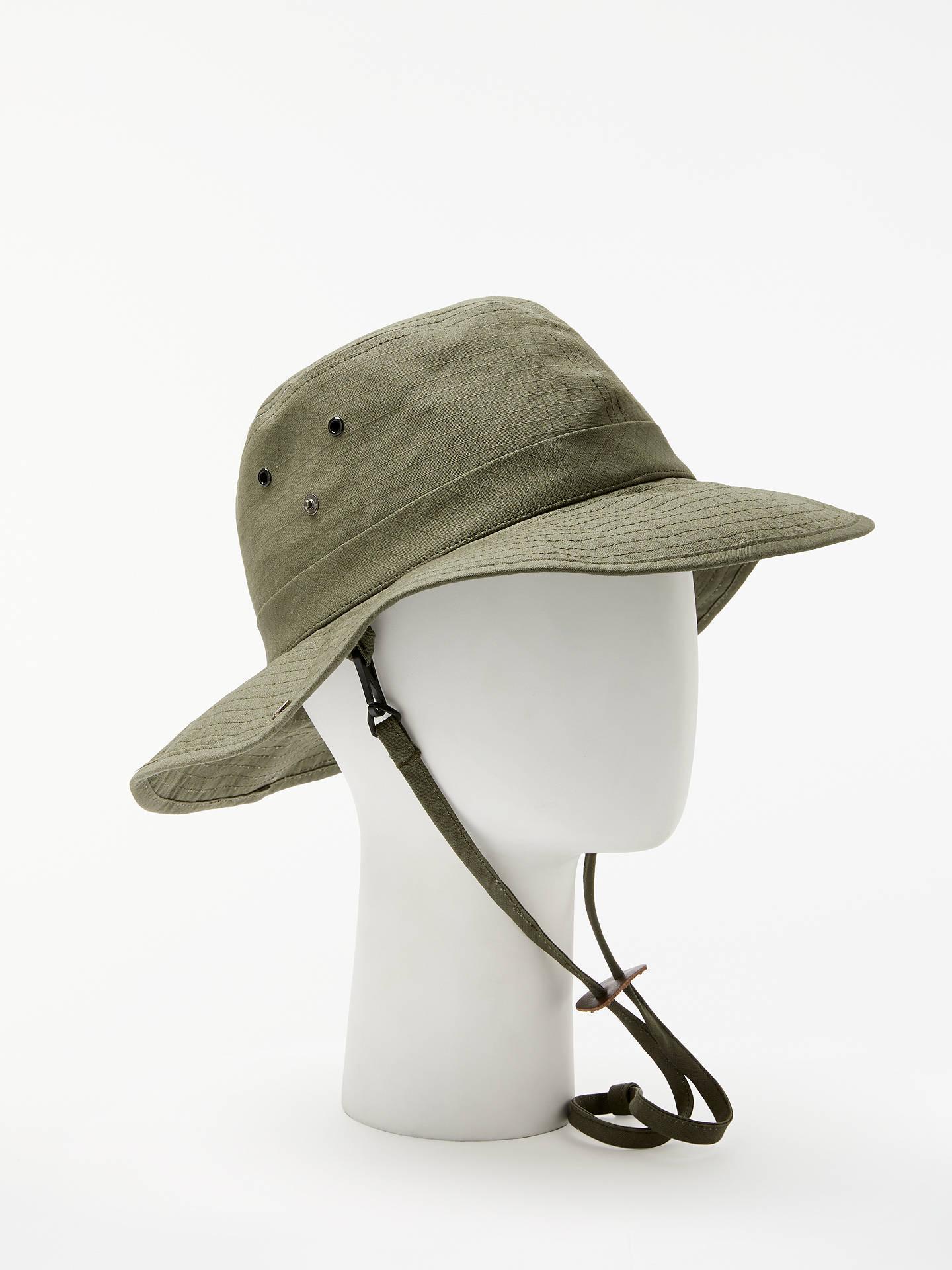 1f2ca33beba Buy John Lewis   Partners Cotton Safari Hat