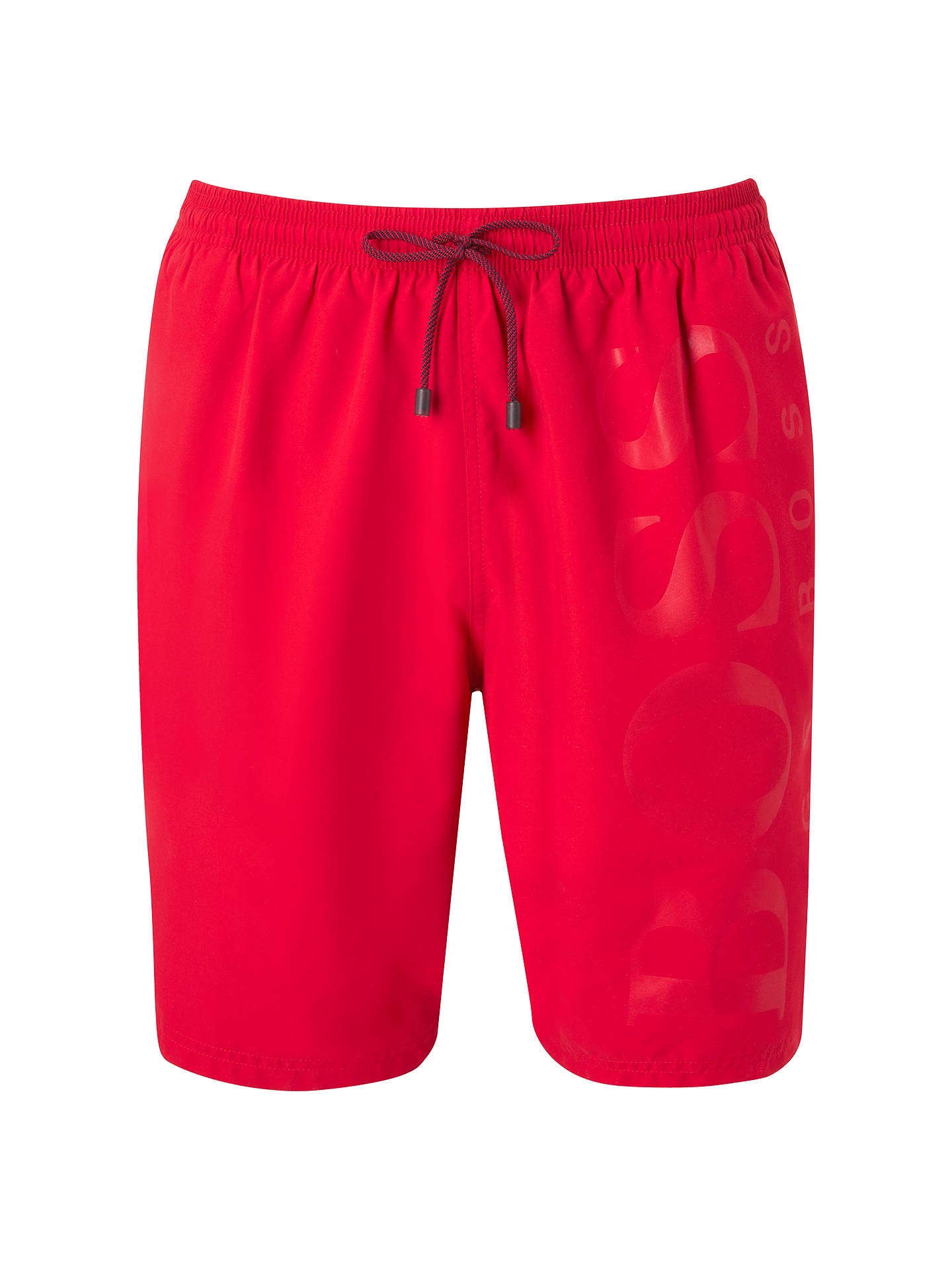 BuyBOSS Logo Swim Shorts, Red, S Online at johnlewis.com