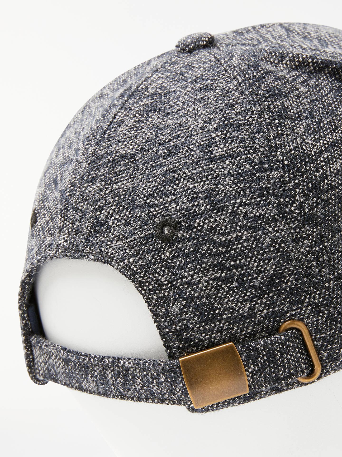 e7e2735624920 ... Buy John Lewis   Partners Texture Weave Baseball Cap