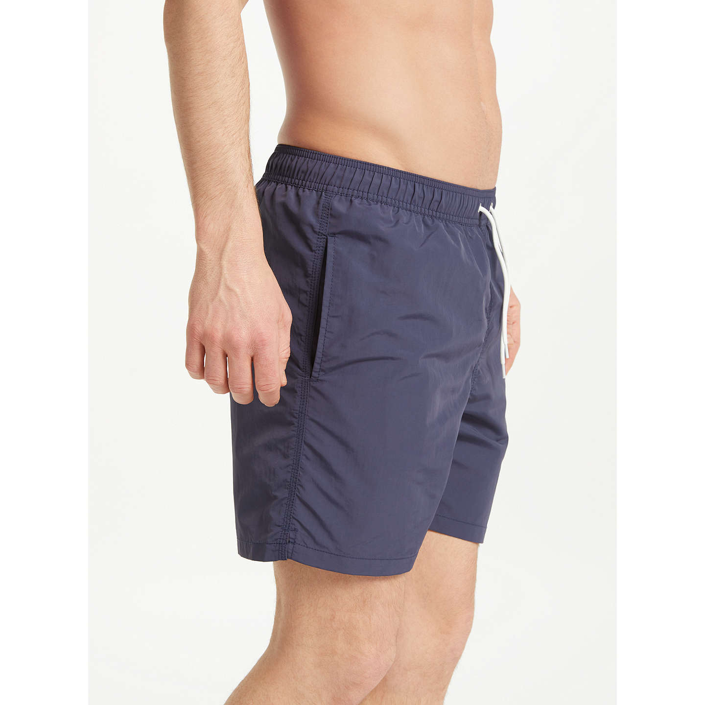 BuyHackett London Mr Classic Swim Shorts, Navy, M Online at johnlewis.com