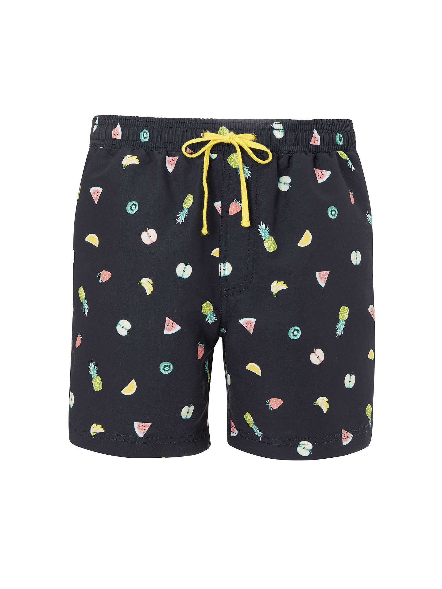 BuyJohn Lewis & Partners Fruit Print Swim Shorts, Navy, S Online at johnlewis.com