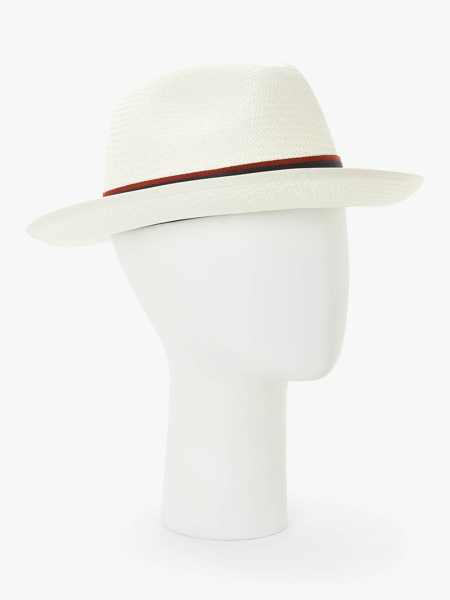 f3f9e64a Buy John Lewis & Partners Christys' Wide Brim Exclusive Classic Panama Hat,  Natural, ...