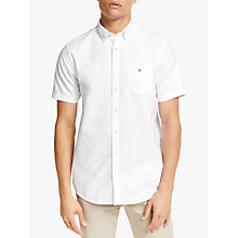 Buy Gant Oxford Short Sleeve Shirt Online at johnlewis.com