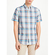 Buy Gant Madras Check Short Sleeve Check Shirt Online at johnlewis.com