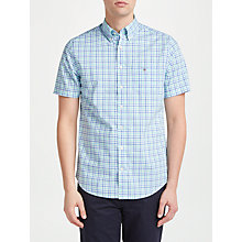 Buy Gant Oxford Short Sleeve Gingham Shirt Online at johnlewis.com