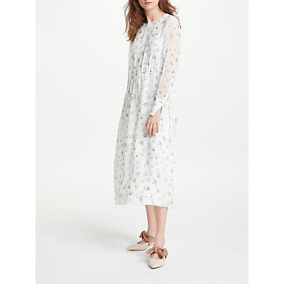 Modern Rarity Archive Print Shadow Floral Maxi Dress, White