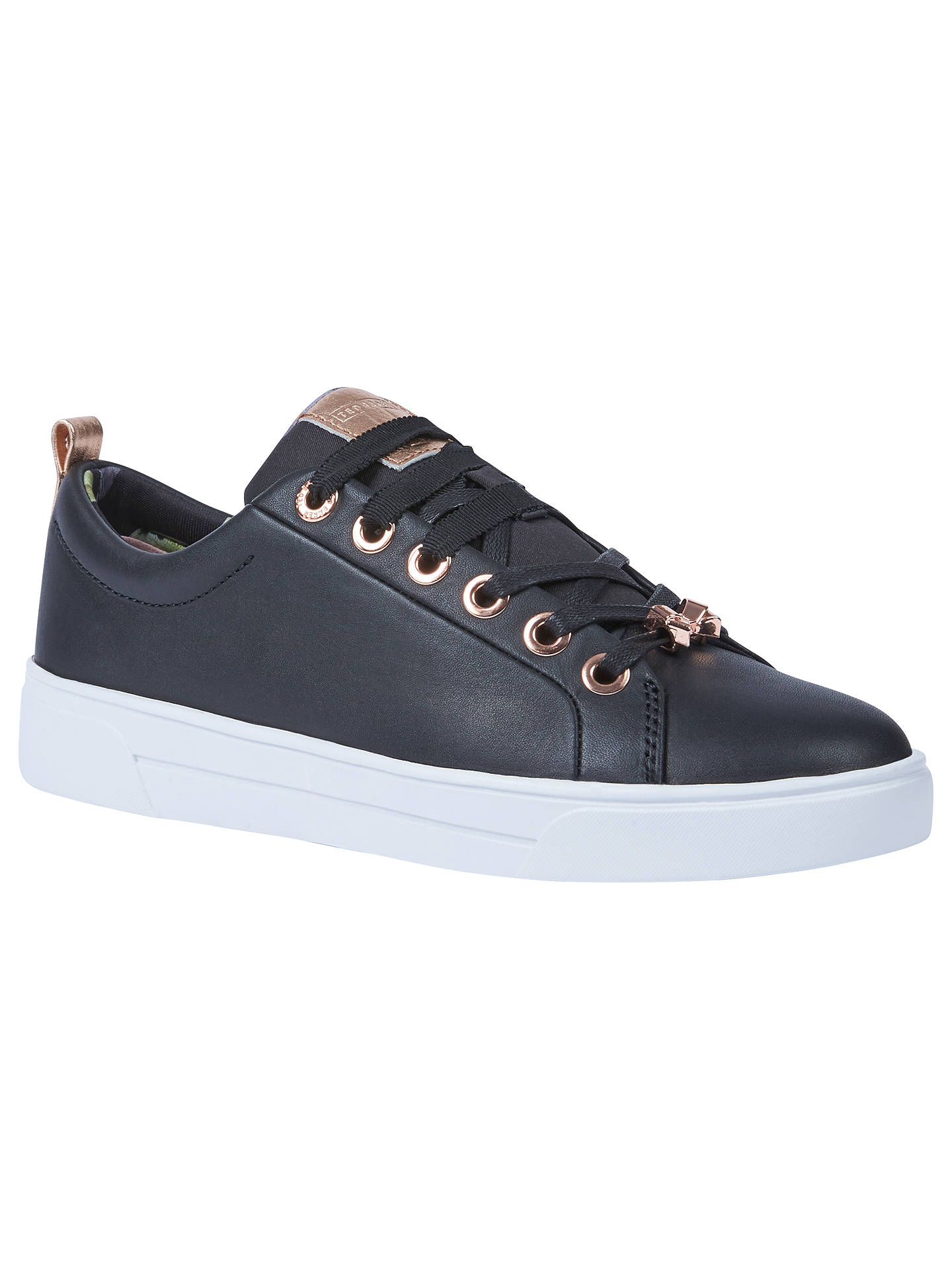 9d5a454b2e4b98 Ted Baker Kellei Low Top Trainers at John Lewis   Partners