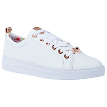 Buy Ted Baker Kellei Low Top Trainers Online at johnlewis.com