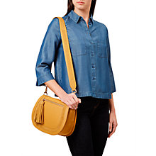 Buy Hobbs Tabitha Shirt, Dark Indigo Online at johnlewis.com