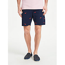 Buy GANT Lobster Print Seersucker Shorts Online at johnlewis.com