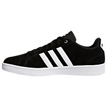 Buy Adidas Neo Cloudfoam Advantage Men's Trainer, Core Black Online at johnlewis.com