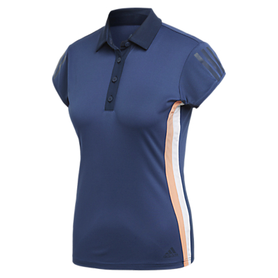 adidas Club 3-Striped Tennis Polo Shirt, Indigo