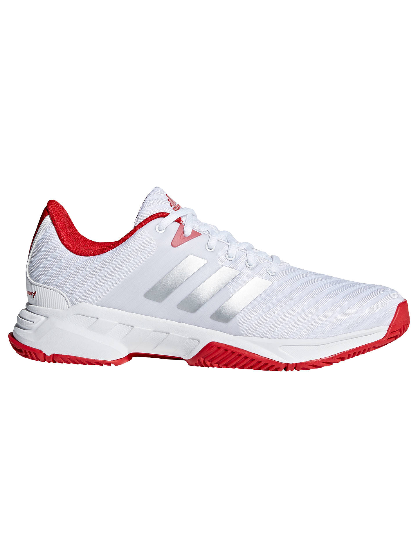 adidas Barricade 3.0 Men's Tennis Court Shoes, WhiteRed at