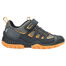 Buy Start-Rite Children's Charge Trainers, Grey/Orange Online at johnlewis.com