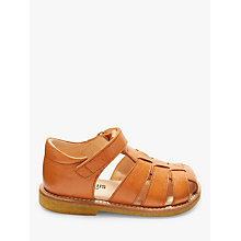 Buy ANGULUS Children's Gladiator Sandals, Tan Online at johnlewis.com