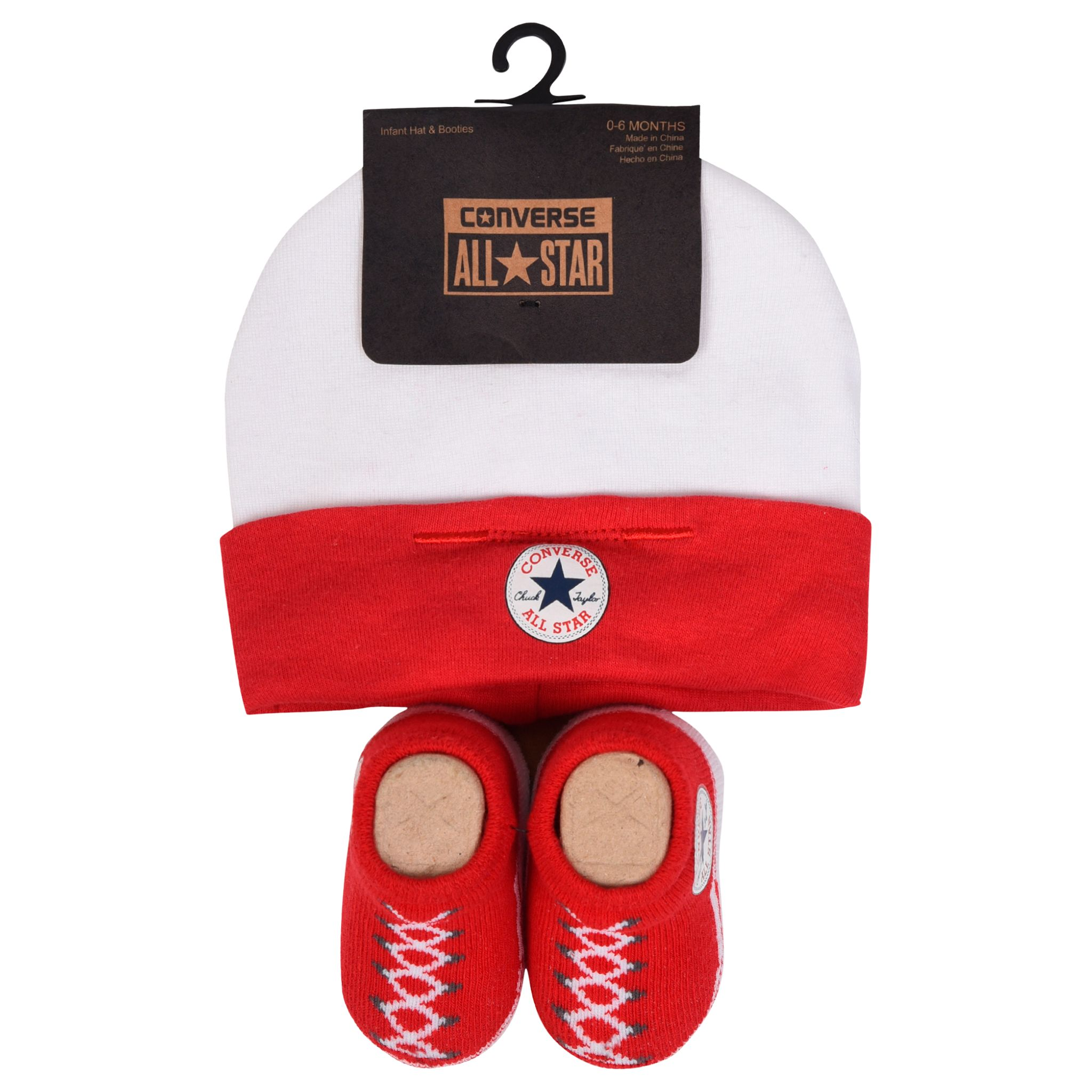 Converse Baby Booties And Hat Set 39c22b2c62c0