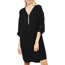 Buy Mint Velvet Cocoon Dress, Black Online at johnlewis.com