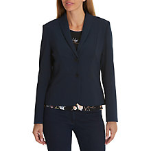 Buy Betty Barclay Tailored Blazer, Dark Sky Online at johnlewis.com