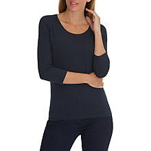 Buy Betty Barclay 3/4 Sleeve T-Shirt, Dark Sky Online at johnlewis.com