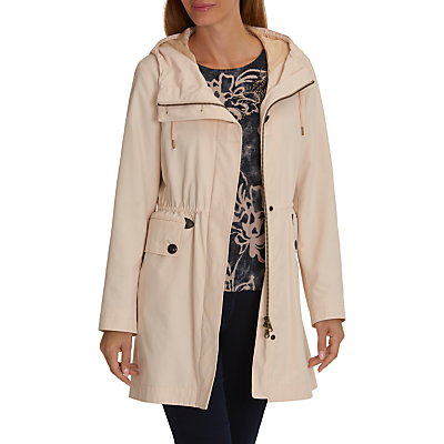 Betty Barclay Crossover Hooded Parka, Tapioca