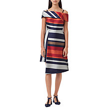 Buy Finery Sackville Stripe Dress, Multi Online at johnlewis.com