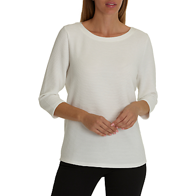 Betty Barclay Bell Sleeve Top, Off White
