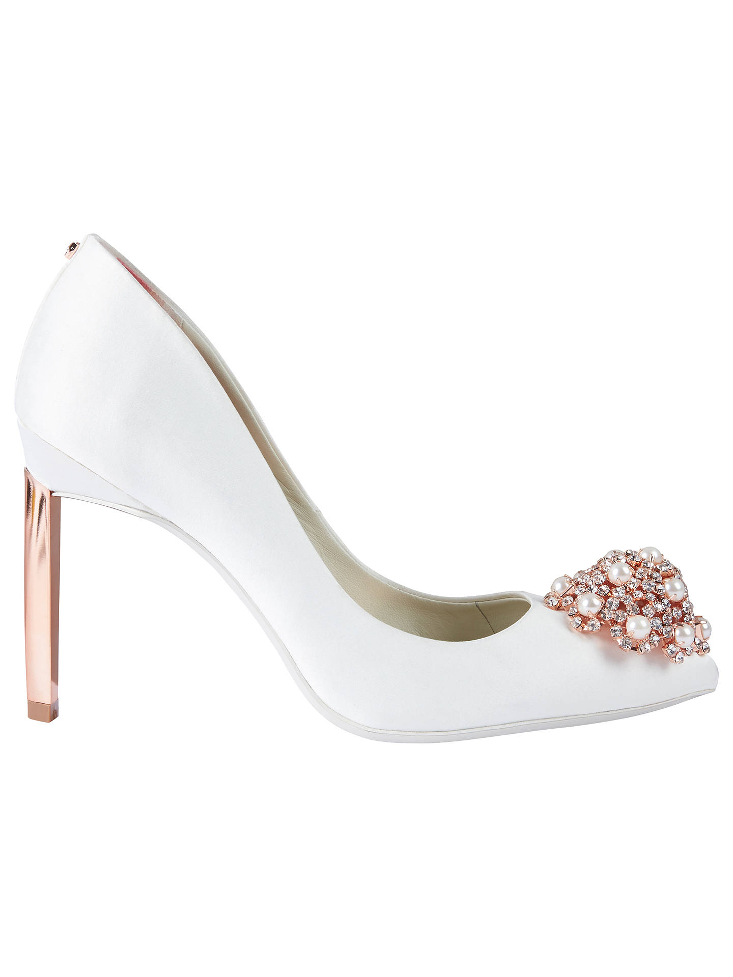 67126dec9 Buy Ted Baker Peetch 2 Embellished Stiletto Heel Court Shoes