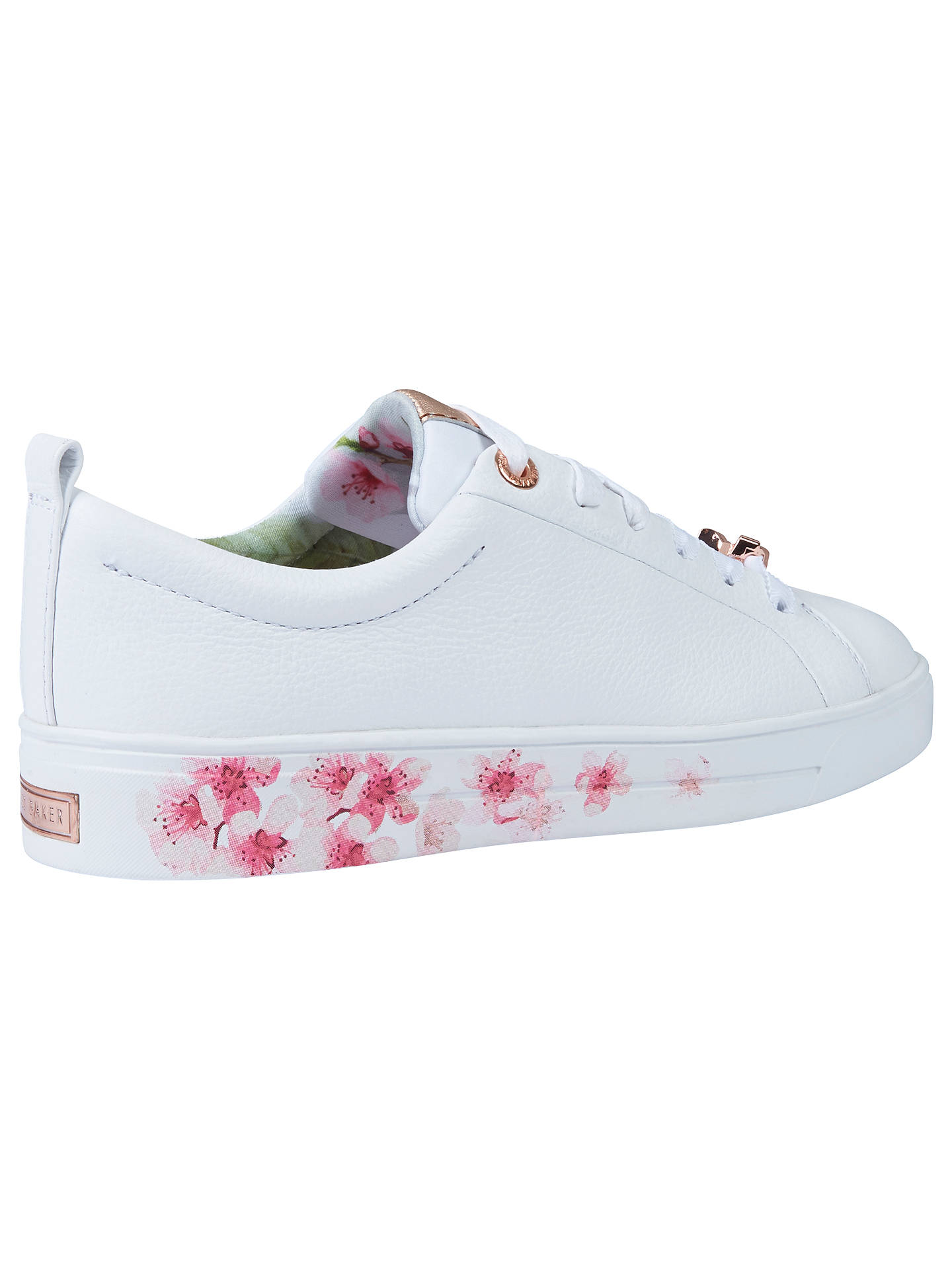 38a63090c2d800 Ted Baker Kelleip Low Top Trainers at John Lewis   Partners